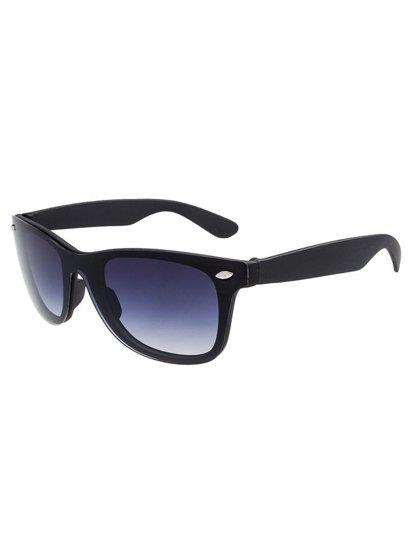 Okulary przeciwsłoneczne czarne Denley CO104A