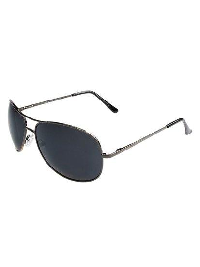 Okulary przeciwsłoneczne grafitowe Denley P8