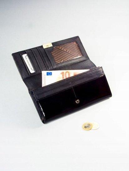 Portfel damski skórzany czarny 1161