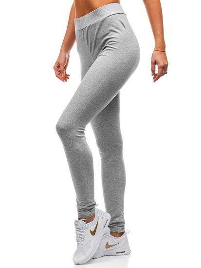 Spodnie dresowe damskie szare Denley W9995