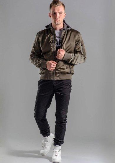 Stylizacja nr 48 - kurtka, longsleeve, spodnie joggery