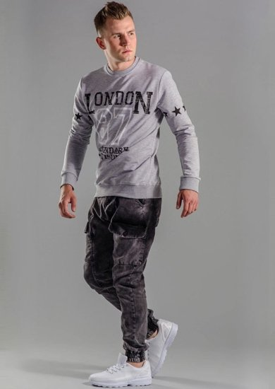 Stylizacja nr 51 - bluza, spodnie joggery, buty