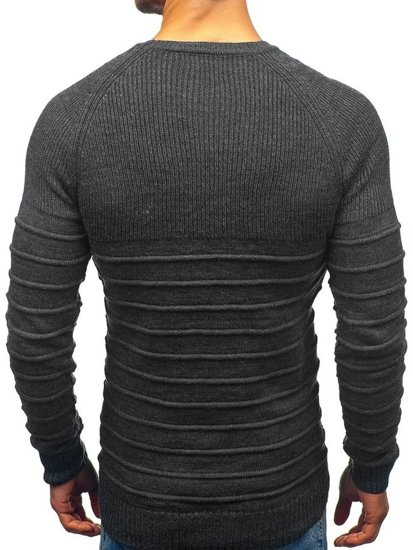 Sweter męski antracytowy Denley 161