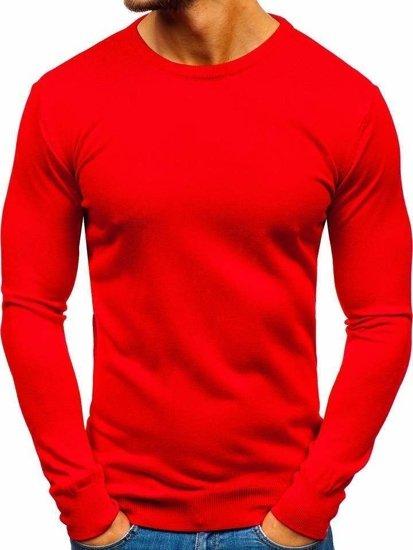 Sweter męski czerwony Denley 2300
