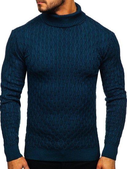 Sweter męski golf indygo Denley 501