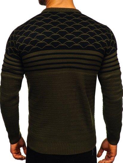 Sweter męski zielony Denley 314