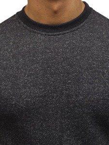 Bluza męska bez kaptura grafitowa Denley 01