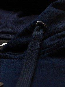 Bluza męska z kapturem atramentowa Bolf 5361