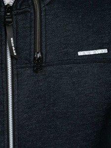 Bluza męska z kapturem granatowa Denley 3633