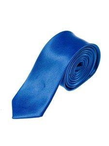 Elegancki krawat męski niebieski Denley K001