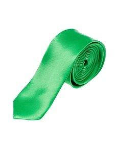 Elegancki krawat męski zielony Denley K001