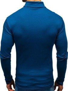 Golf męski basic niebieski Denley 145347
