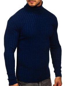 Granatowy sweter męski golf Denley 520
