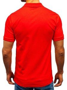 Koszulka polo męska pomarańczowa Denley 9025