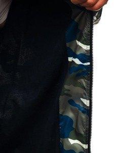Kurtka męska przejściowa bomberka moro-zielona Denley 0462