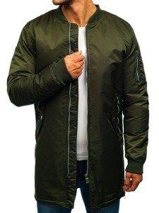 Kurtka męska przejściowa khaki Denley ak903