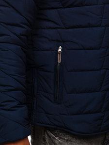 Kurtka męska zimowa granatowa Denley 1673