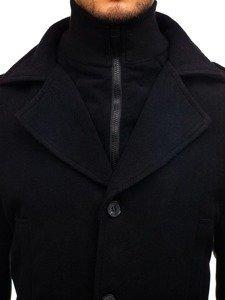 Płaszcz męski zimowy czarny Denley 1808
