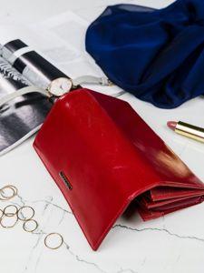 Portfel damski skórzany czerwony 2903