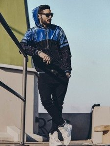Stylizacja nr 135 - kurtka przejściowa, spodnie joggery, buty sneakersy