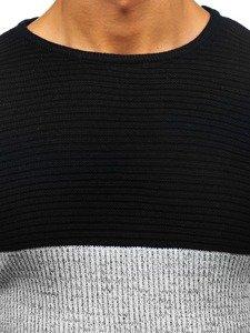 Sweter męski czarny Denley 164