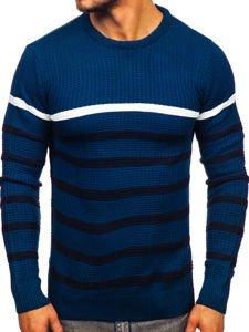 Sweter męski niebieski Denley 1951