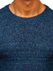 Sweter męski niebieski Denley H1926
