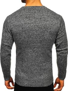 Sweter męski szary Denley H1937