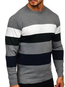Szary sweter męski Denley H2005